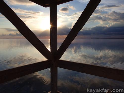 flex maslan kayakfari florida bay kayak summer paddle everglades chickee Camp flats tide turtle grass Keys heat adventure thunder storm