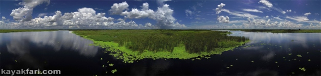 flex maslan kayakfari lake okeechobee kayak fisheating everglades paddle green algae pollution