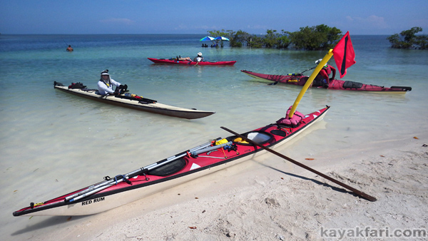 flex maslan Kayak miami kayakfari boca chita biscayne bay black point lighthouse photography sombrero paddle open water
