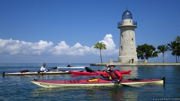 flex maslan Kayak miami kayakfari boca chita biscayne bay black point lighthouse photography sombrero paddle open water