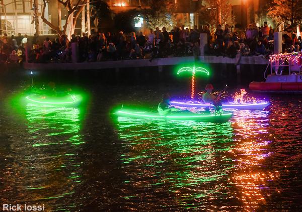 Flex Maslan Kayak Winterfest Boat Parade kayakfari Christmas lights Devo ft lauderdale 80s Holidays photography 2018