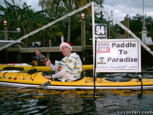 Flex Maslan Kayak Winterfest Boat Parade Christmas lights kayakfari kayak jeff Holidays paddle photography 2008