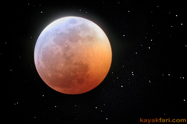 flex maslan kayakfari eclipse lunar blood full moon total everglades photography kayak stars camp january 21 2019
