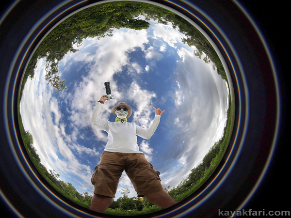 flex maslan kayakfari photographer kayak everglades paddle adventure fisheye Florida Bay ten thousand camp