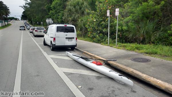 flex maslan Boca Raton fitness kayakfari paddle kayak loop workout k1 surfski spanish river beach inlet intracoastal lake