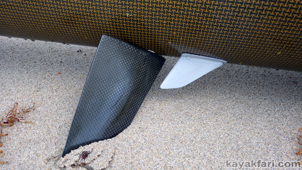 flex maslan kayakfari stellar surfski sargassum weed guard deflector rudder grey ghost kayak paddle fitness