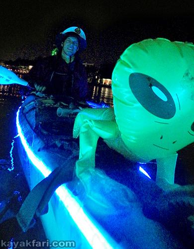 Flex Maslan Kayak Winterfest Boat Parade Christmas lights LED kayakfari Ft Lauderdale Holidays paddle photography 2019