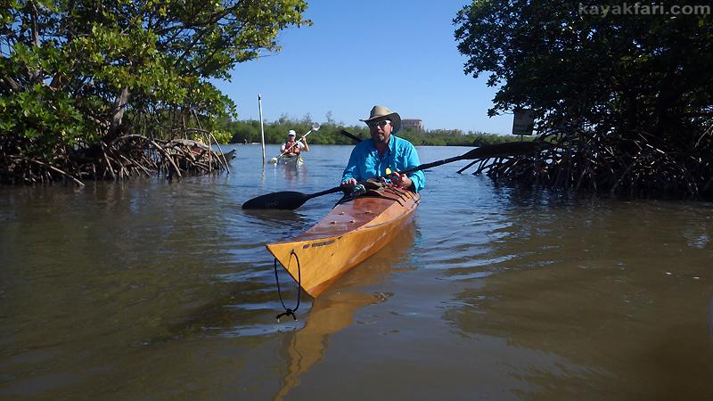 Flex Maslan kayak west lake kayakfari ft lauderdale hollywood paddle florida new year loop intracoastal trails