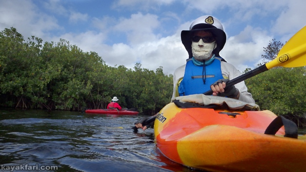 flex maslan kayakfari paddle kayak turner river everglades chokoloskee mangrove tunnel creek mound south florida