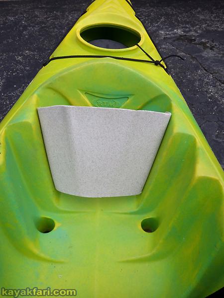 flex maslan kayak foot plate kayakfari rtm disco paddle diy surf leg drive surfski sot mojito custom