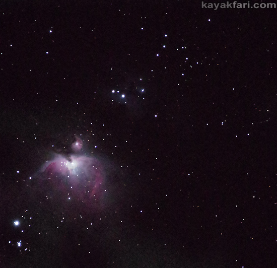 Flex Maslan kayakfari photography kayak camping stars night sky dark Everglades landscape milky way galaxy