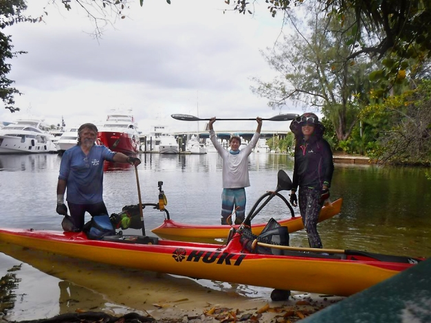 flex maslan kayakfari coronavirus kayak paddle covid-19 quarantine ft lauderdale photography port everglades