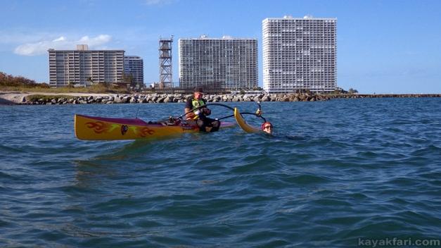 flex maslan kayakfari coronavirus kayak paddle covid-19 quarantine ship Social Distancing photography port everglades ft lauderdale