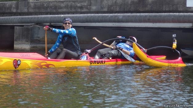 flex maslan kayakfari quarantine kayak paddle oleta canal river c-9 nmb covid-19 coronavirus pandemic Social Distancing photography