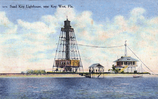 flex maslan Kayakfari reef sand key west lighthouse kayak paddle dive history photography surfski fort zachary taylor 1910