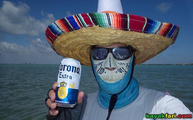flex maslan kayakfari corona miami covid-19 kayak virus sombrero park beach safety mask stiltsville