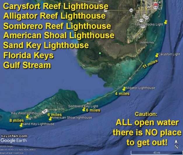 flex maslan Kayakfari reef sand key west lighthouse kayak paddle dive history photography surfski fort zachary taylor satellite