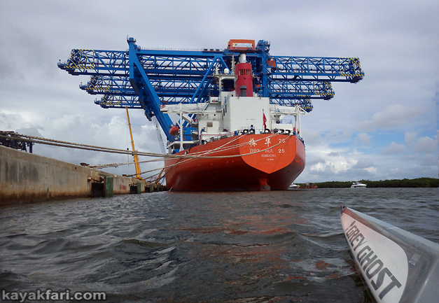 flex maslan kayakfari port everglades gantry cranes kayak ft lauderdale photography paddle