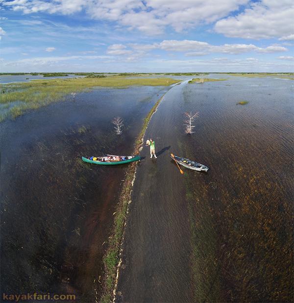 Flex Maslan kayakfari everglades high water paddle kayak photography shark valley flooded sawgrass prairie dwarf cypress