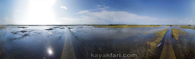 Flex Maslan kayakfari everglades shark valley sea kayak photography paddle high water flooded sawgrass grass prairie enp