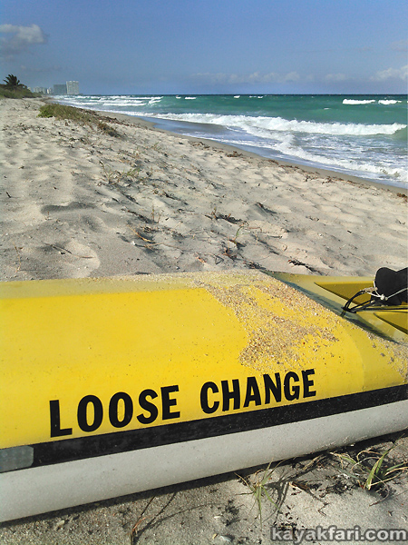 flex maslan kayakfari crosstrainer surfski elan sea kayak loose change surf florida ocean gulfstream rocker paddle