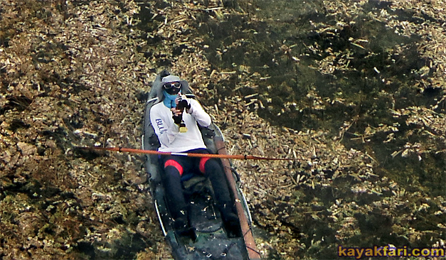 Flex Maslan kayakfari everglades kayak photography glades paddle skiff explore prowler trident slough