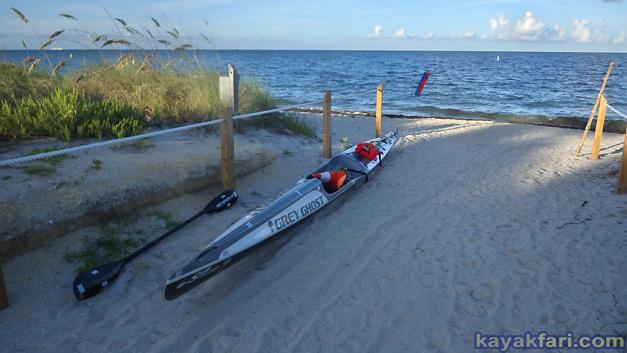 flex maslan kayakfari safety valve boca chita biscayne bay kayak paddle miami soldier key Cape Florida photography cone hat
